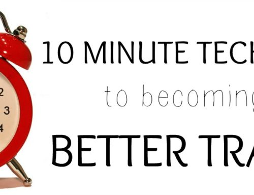 Become a Better Trader in 10 Minutes