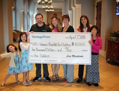 VantagePoint Software Donates $10,000 to Shriners Hospitals for Children