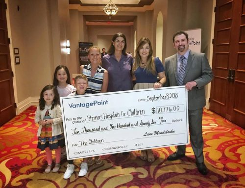 VantagePoint Software Donates $10,000 to Shriners Hospitals for Children at Fall Power Trader Seminar