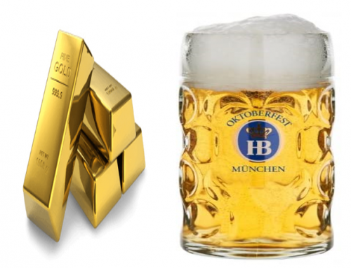 Why The Fed Should Be Watching The Beer to Gold Ratio!