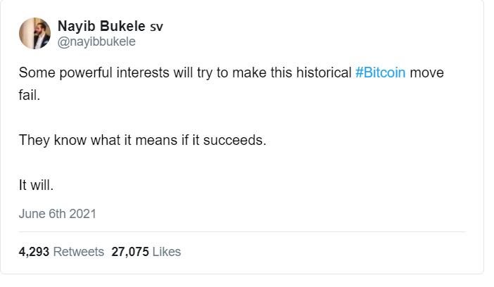 Bitcoin move Fail